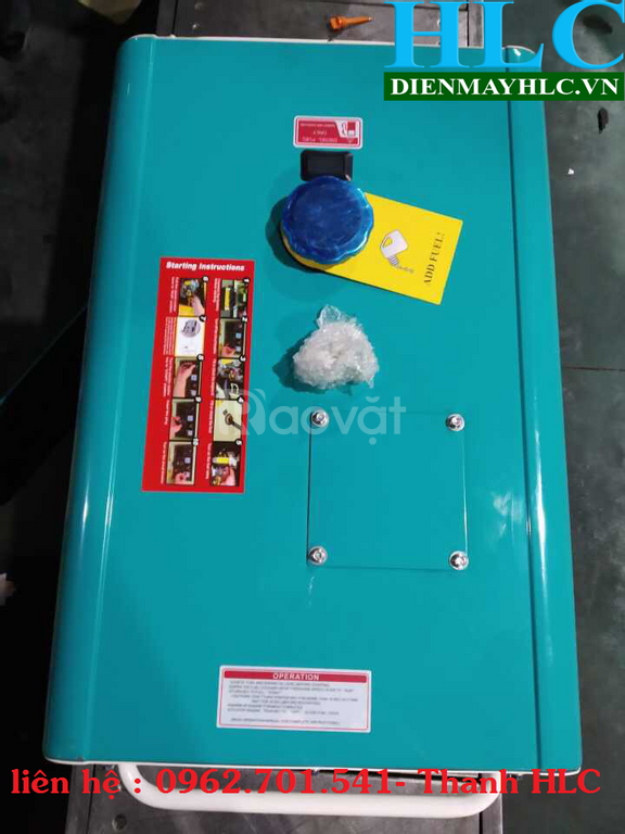 Mua máy phát điện chạy dầu tomikama 8500 chính hãng, giá rẻ