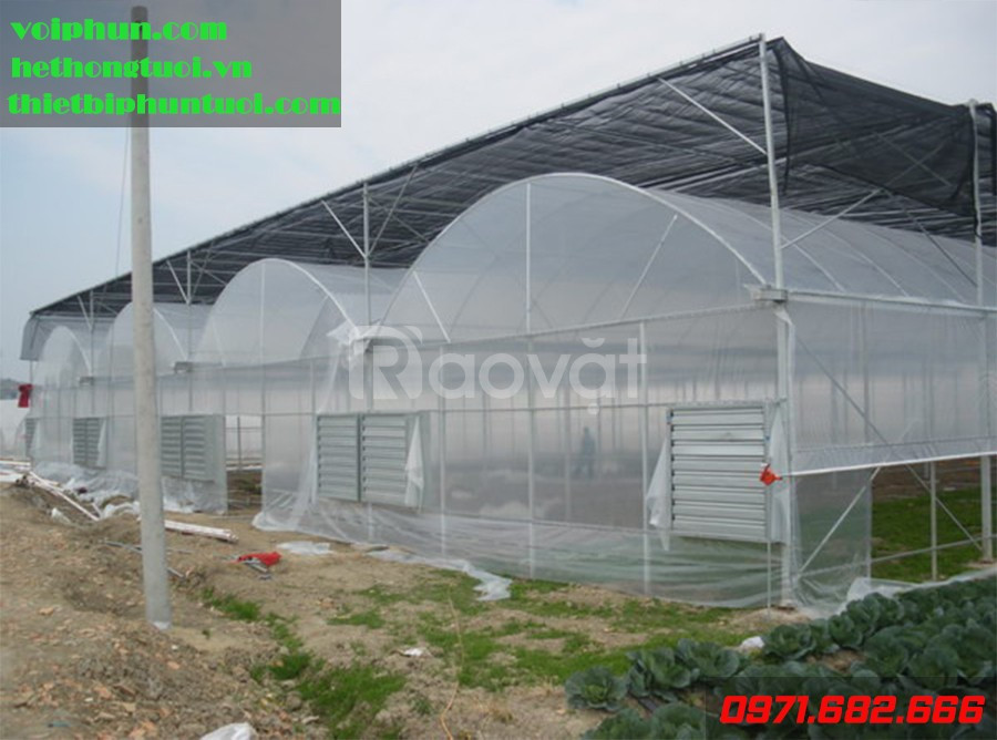 Nhà màng, nhà kính nông nghiệp, thiết bị vật tư nhà kính