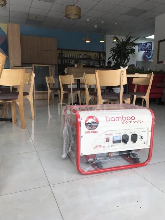 Máy phát điện Bamboo 4800e bảo hành 1 năm chính hãng giá rẻ