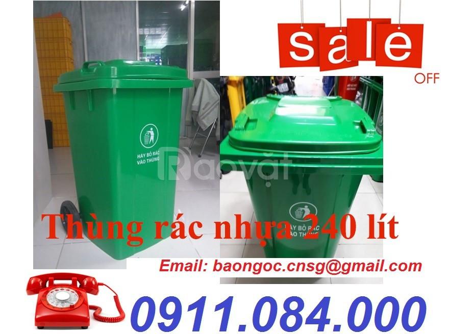 Nơi mua thùng rác 120L, 240L uy tín TPHCM (ảnh 5)