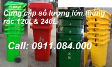 Nơi mua thùng rác 120L, 240L uy tín TPHCM