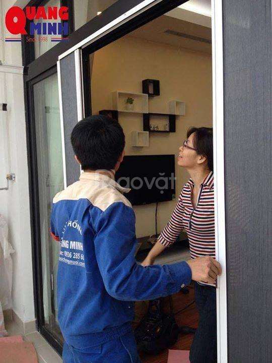 Cửa lưới chống côn trùng Quang Minh