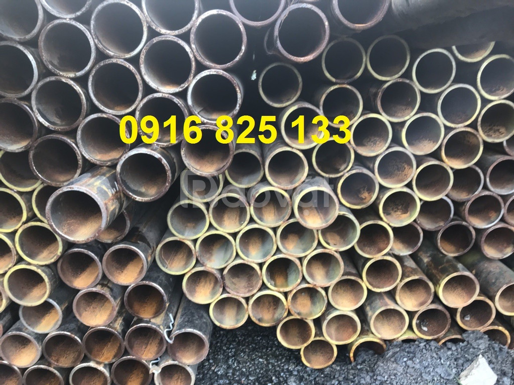Thép ống Ø60x5.5 ly ống hàn, giá 18.300đ/kg có VAT, quá rẻ