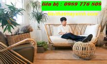 Sofa mây, bàn ghế mây tre đan giá rẻ