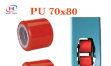 Bánh xe nâng tay PU 80x70 dùng cho các xe nâng tay