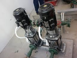 Báo giá máy bơm nước nóng, bơm tăng áp trục đứng Ebara 2 (ảnh 1)
