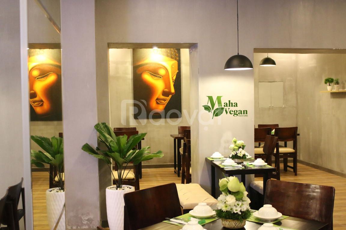 Maha Vegan không gian lý tưởng cho những buổi họp mặt gia đình, bạn bè
