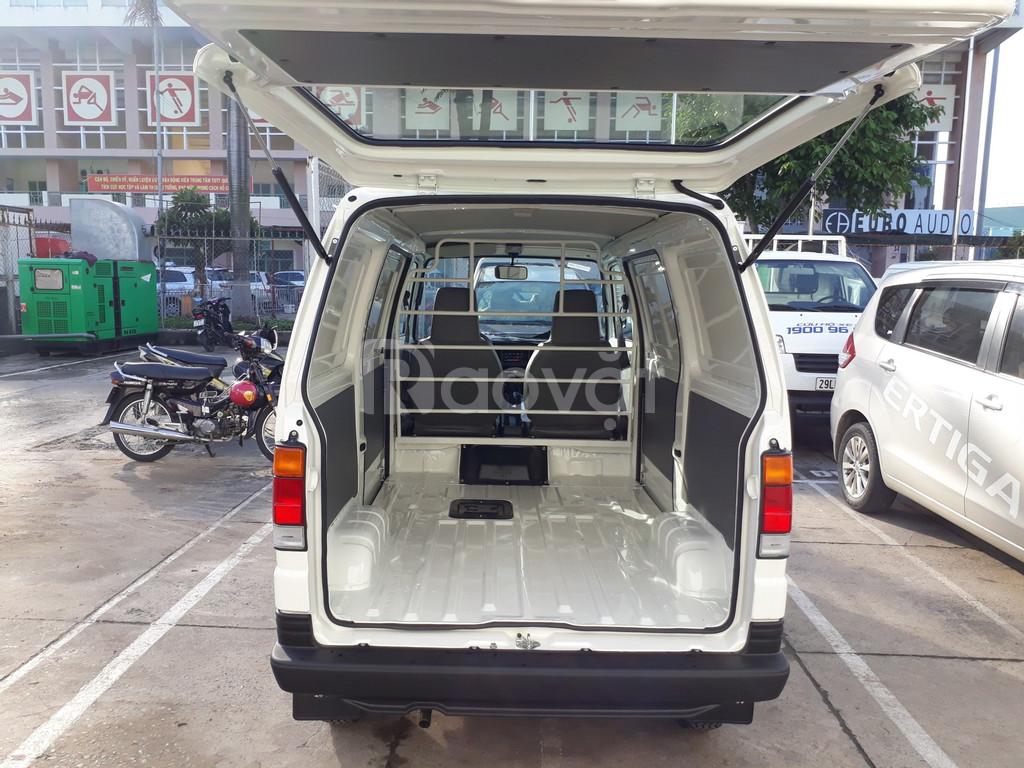Xe tải Van Suzuki cửa lùa hỗ trợ trước bạ (ảnh 6)