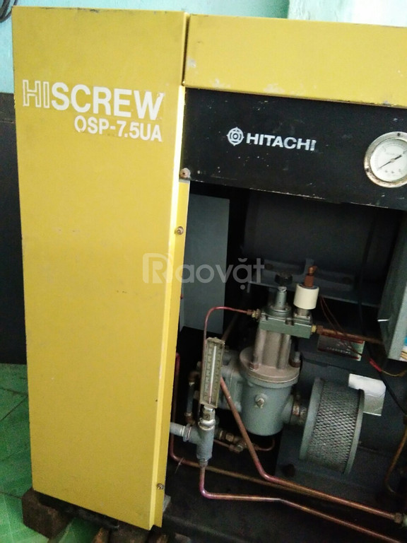 Máy nén khí Hitachi 10hp hàng rẻ - chất lượng