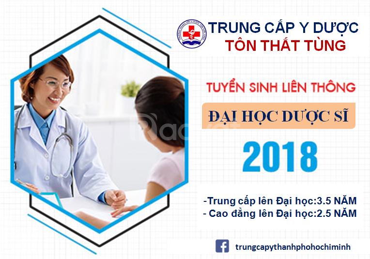 Liên thông đại học ngành dược 2018
