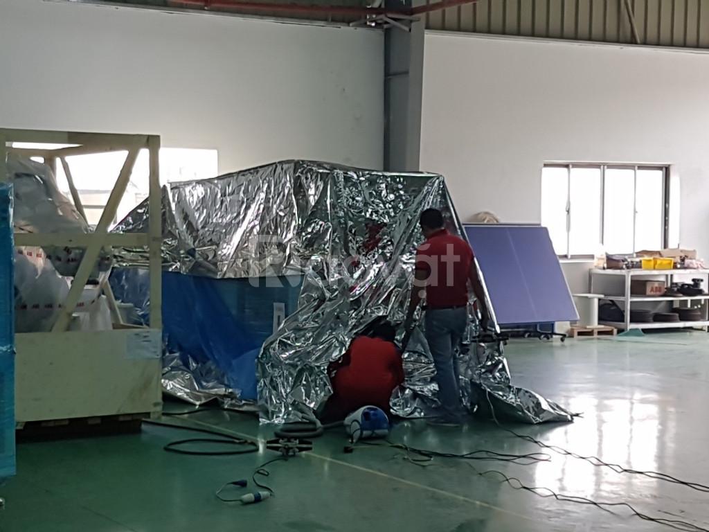 Đóng gói hút chân không hàng hóa máy móc tại Kiến Đỏ