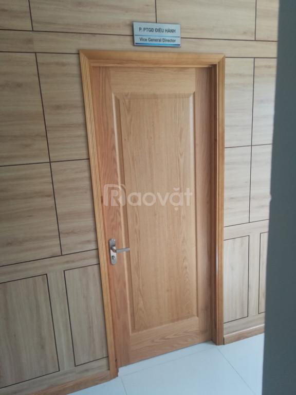 Cửa gỗ công nghiệp hdf giá rẻ bền tốt Thủ Đức quận 2 quận 9