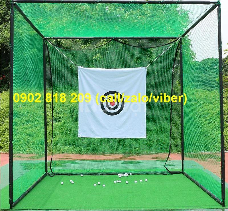 Bộ chơi golf tại nhà, khung lưới tập golf 3 mét