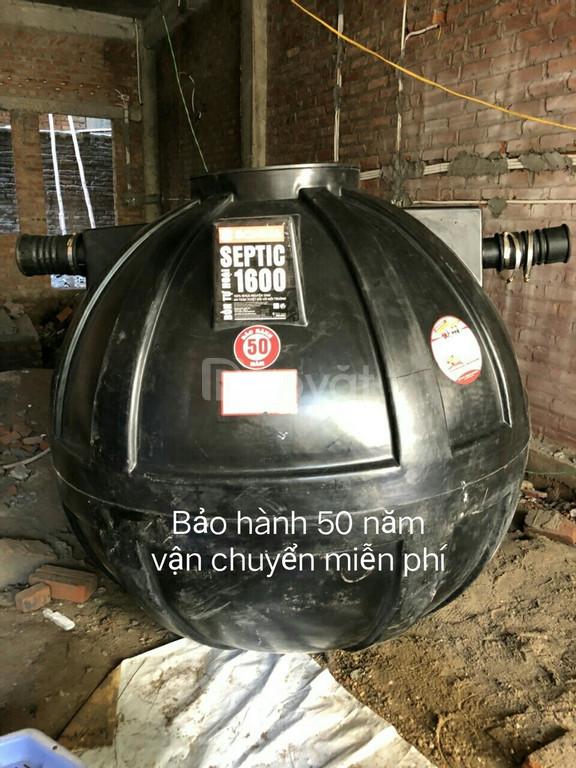 Bể tự hoại Septic Sơn Hà 1000L