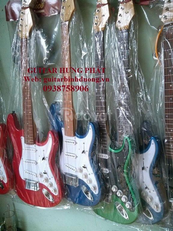 Bán guitar điện phím lõm giá rẻ tại Bình Dương