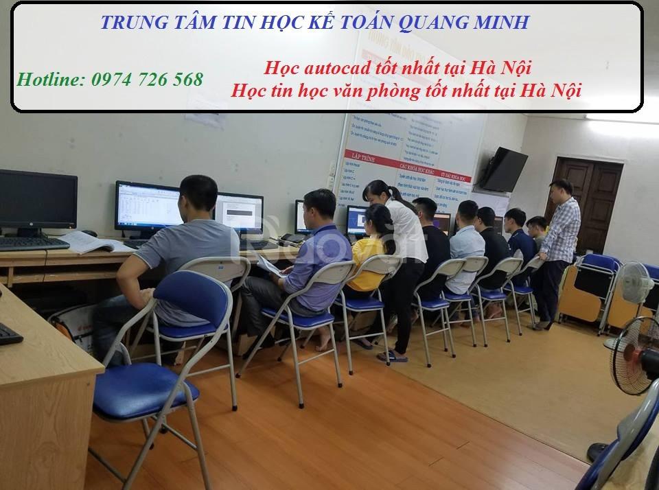Tìm lớp học autocad tại Hà Nội (ảnh 1)