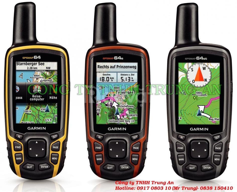 Máy định vị GPS Garmin Map 64s đo diện tích đất rừng (ảnh 1)
