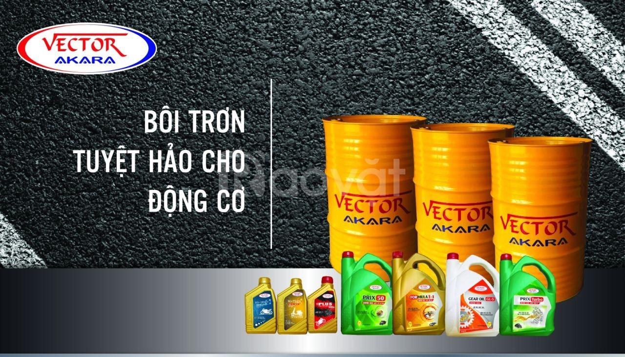 Hợp tác kinh doanh độc quyền dầu nhớt Vector