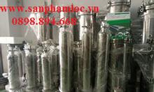 Bình lọc chất liệu inox dùng trong lọc chất lỏng sản xuất