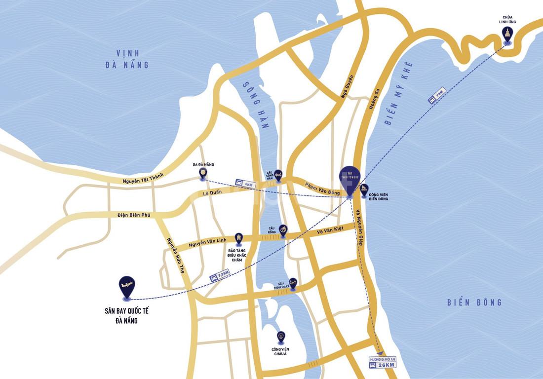 Wyndham Soleil Ánh Dương - vị trí kim cương biển Mỹ Khê (ảnh 2)