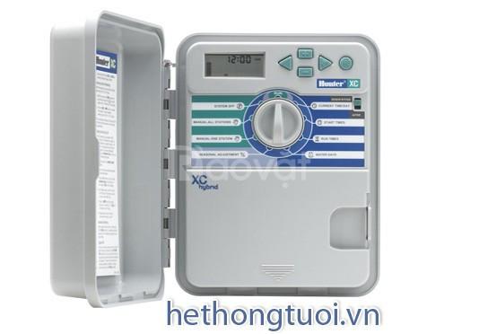 Hệ thống tưới tự động, tủ điều khiển, cảm biến mưa, lọc đĩa azud