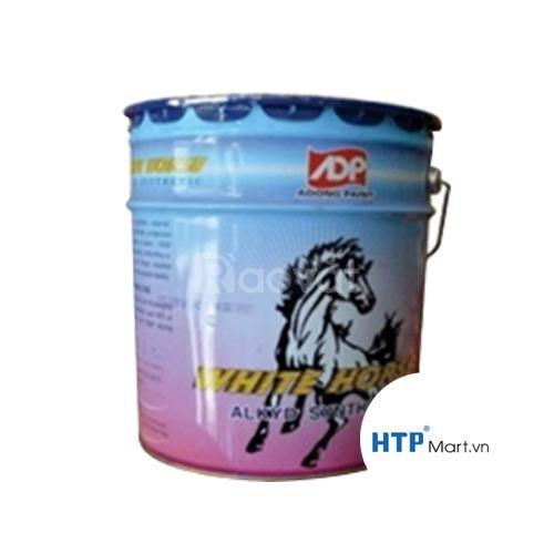 Sơn dầu Á Đông White Horse chuyên dùng cho bề mặt sắt thép tàu biển