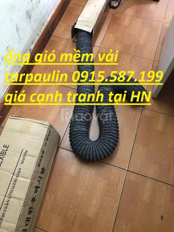 Ống gió vải Tarpaulin, Fiber, Simili cách nhiệt D75, D100, D125, D150