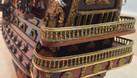 Mô hình tàu chiến cỗ San Felipe bằng gỗ tự nhiên 40cm (ảnh 7)
