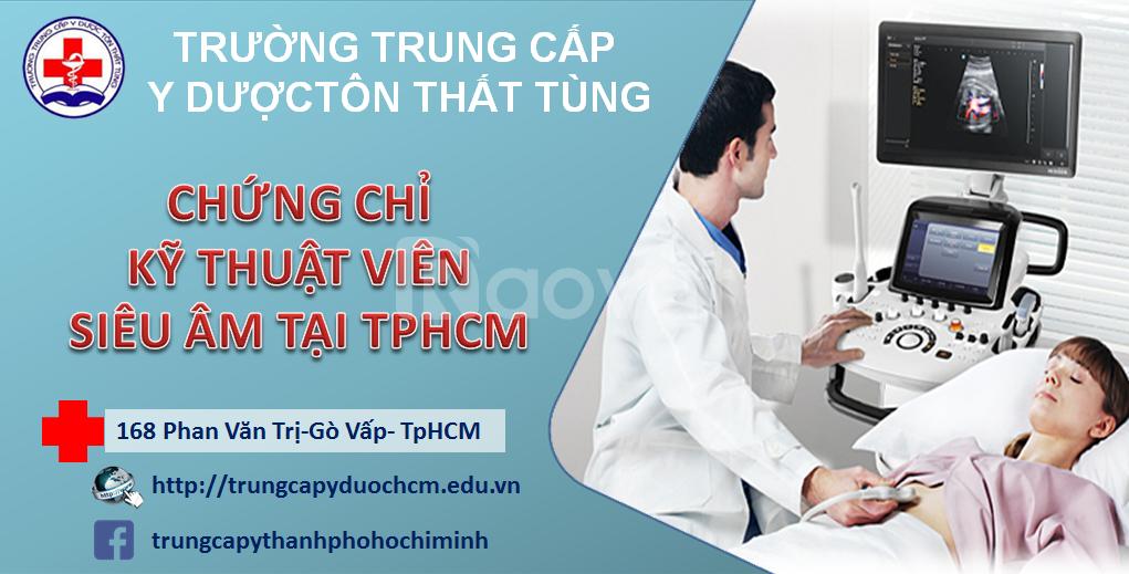 Kỹ thuật viên siêu âm học ngắn hạn tại TPHCM