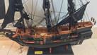 Mô hình mỹ nghệ gỗ tàu cướp biển nhỏ 55cm (ảnh 4)