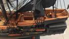 Mô hình mỹ nghệ gỗ tàu cướp biển nhỏ 55cm (ảnh 7)