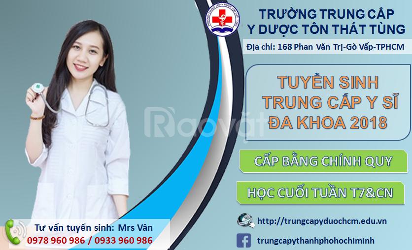 Địa chỉ đào tạo trung cấp y hàng đầu TpHCM
