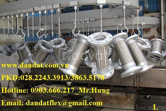 Nơi chuyên cung cấp các loại ống mềm kim loại dẻo: khớp nối mềm inox