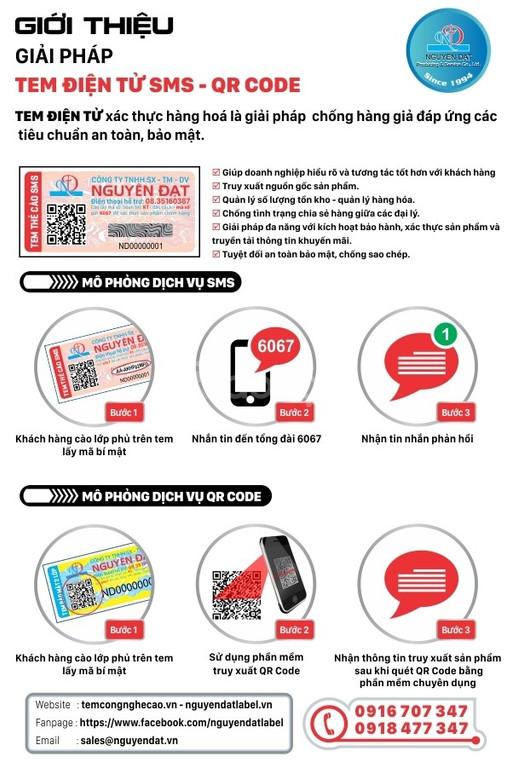 Tem điện tử SMS - QR Code phủ cào giá tốt trên thị trường (ảnh 1)