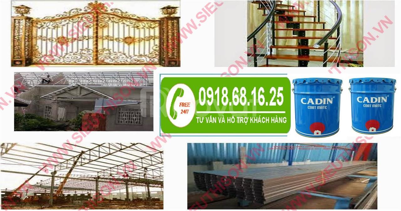 Nhà cung cấp sơn chống rỉ giá rẻ cho nhà thép tại Hồ Chí Minh
