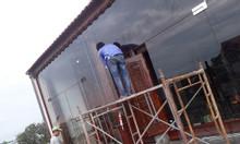 Cửa kính bản lề sàn, thợ lắp cửa kính bản lề sàn