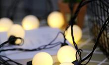 Dây đèn trang trí quán cà phê - Pingpong light