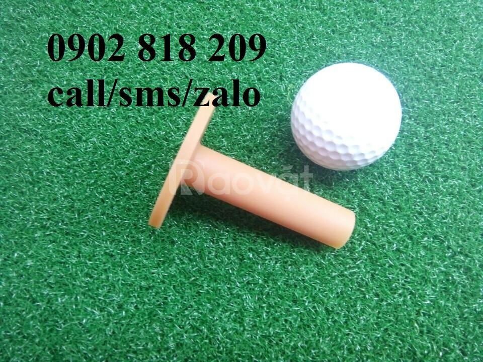 Tee golf cao su cao 7cm