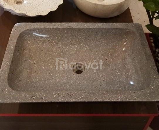 Bồn rửa, chậu rửa đá terrazzo WF10010.3 (ảnh 1)
