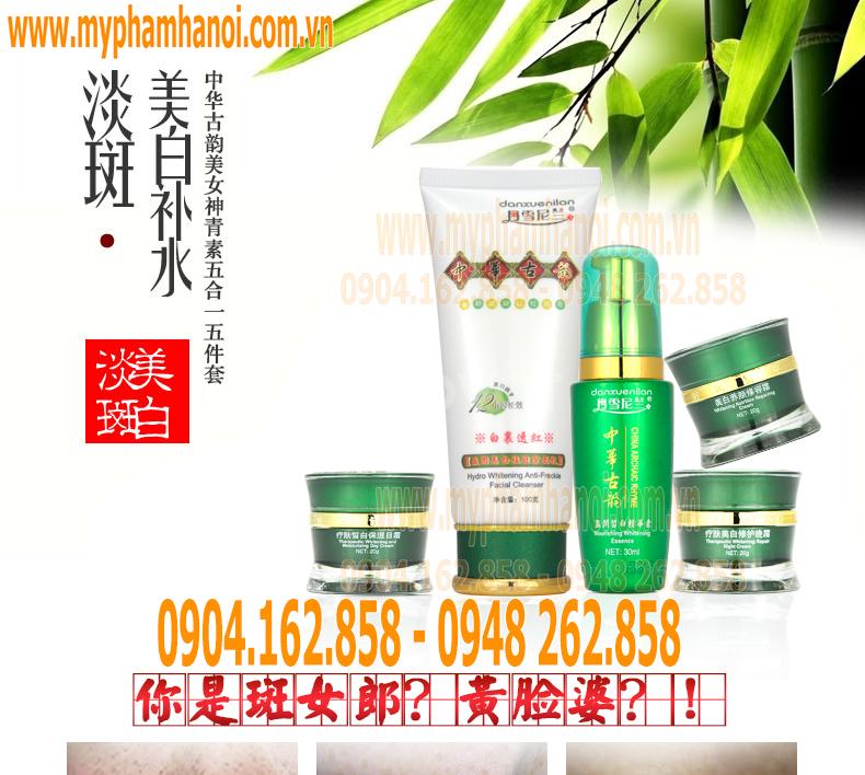 Bộ mỹ phẩm Hoàng Cung Danxuenilan 5in1 chính hãng từ Aliexpress