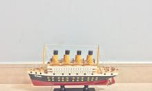 Mô hình tàu Titanic gỗ sơn