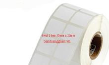 Chuyên giấy in mã vạch 2 tem tại HCM