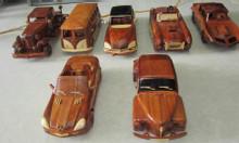 Mỹ nghệ gỗ (mô hình xe ôtô, xe buýt)