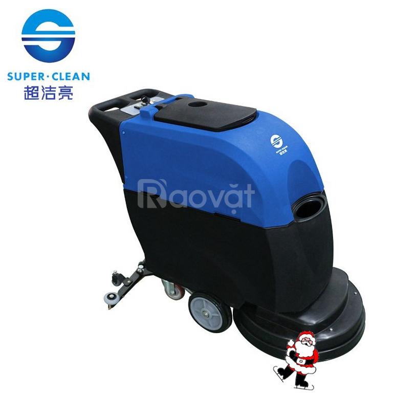 Máy chà sàn liên hợp Supper Clean SC-70D (chạy bằng bình ac-quy)