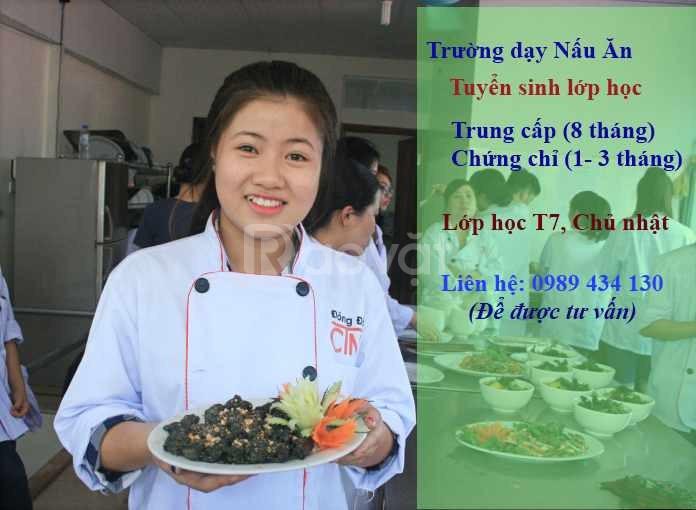 Học trung cấp nghề nấu ăn ở đâu?