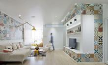 Trang trí nhà đẹp - ấn tượng với gạch bông cổ giá rẻ