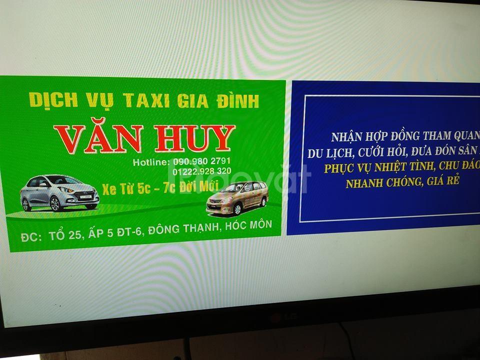 Taxi gia đình giá rẻ Đông Thạnh, Hóc Môn