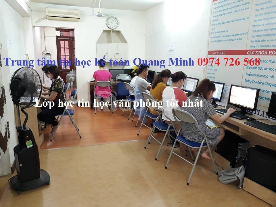 Tìm lớp dạy tin học chất lượng tại Hà Nội