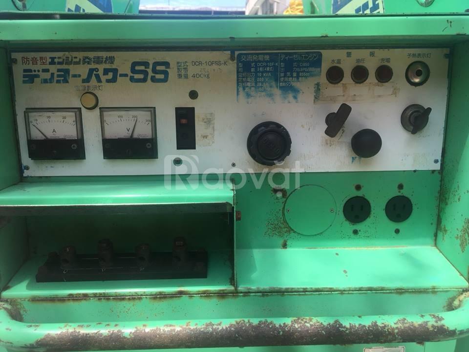Bán máy phát điện cũ Denyo 10kva chính hãng giá rẻ ở TP.HCM (ảnh 4)