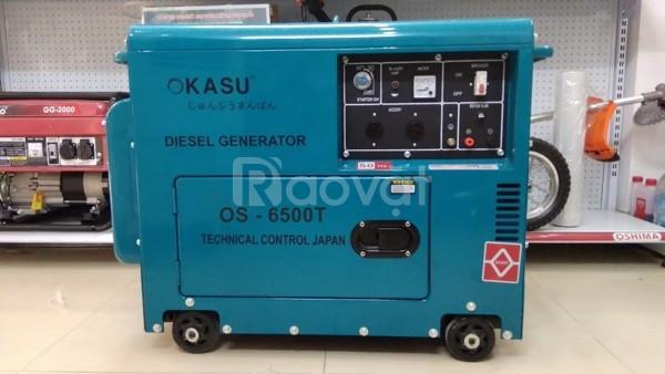 Mua máy phát điện Okasu OS 6500T Nhật Bản ở đâu bán